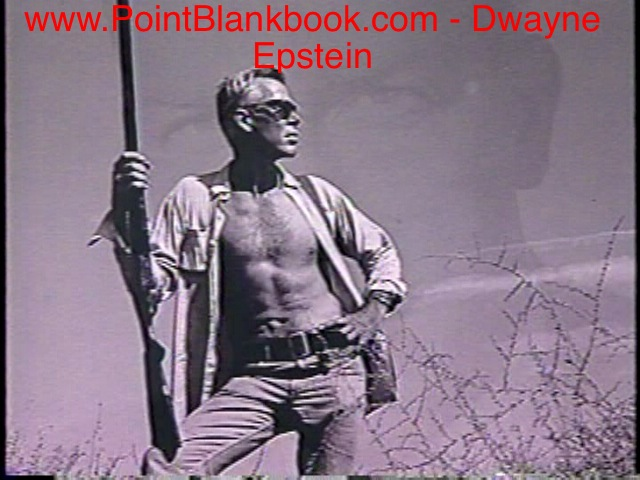Alternat cover for LEE MARVIN: POINT BLANK not used in final version.
