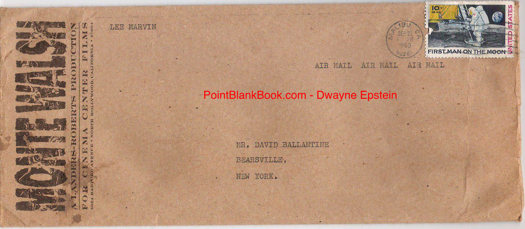 ballantine envelope