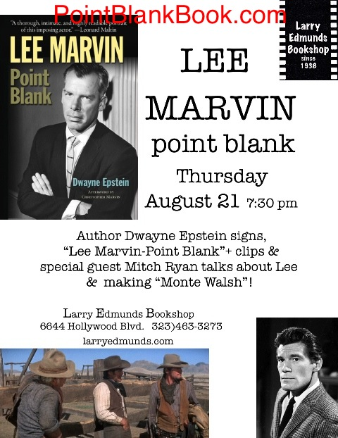 Lee Marvin flyer