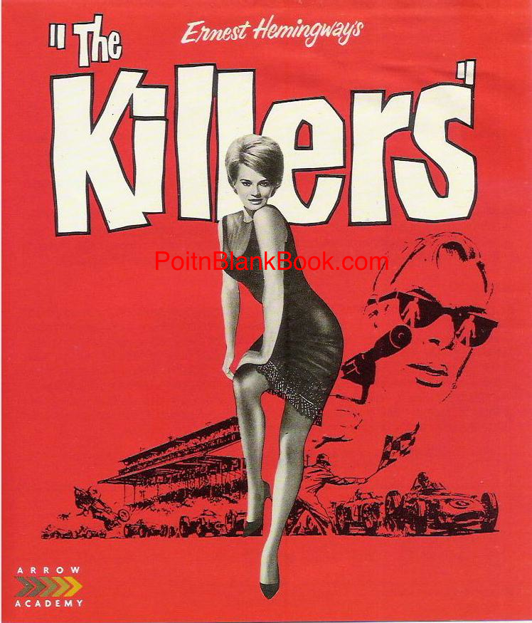 "Original ad for THE KILLERS which included the tag line, ""There's more than one way to kill a man!"""