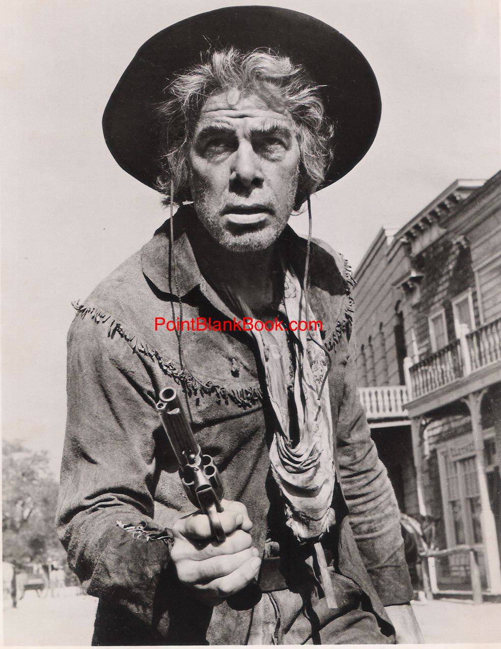 Marvin as Kid Shelleen, his Oscar-winning role in Cat Ballou (1965).