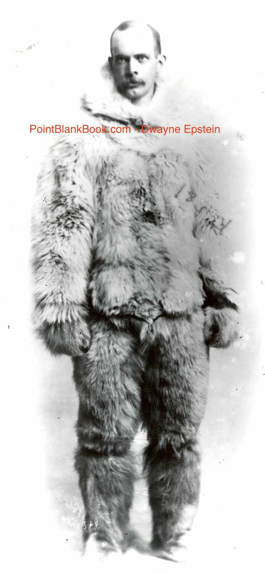 Lee Marvin's great uncle, Ross Marvin, pictured above in Arctic gear during the Peary Expedition.