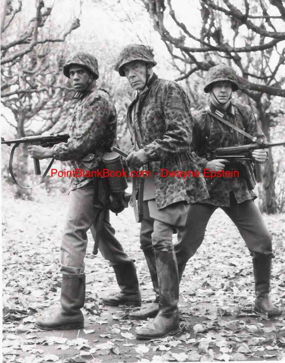 (L-R) African-Amercian actor Ricco Ross, Lee Marvin & Larry Wilcox go undercover in THE DIRTY DOZEN: THE NEXT MISSION.