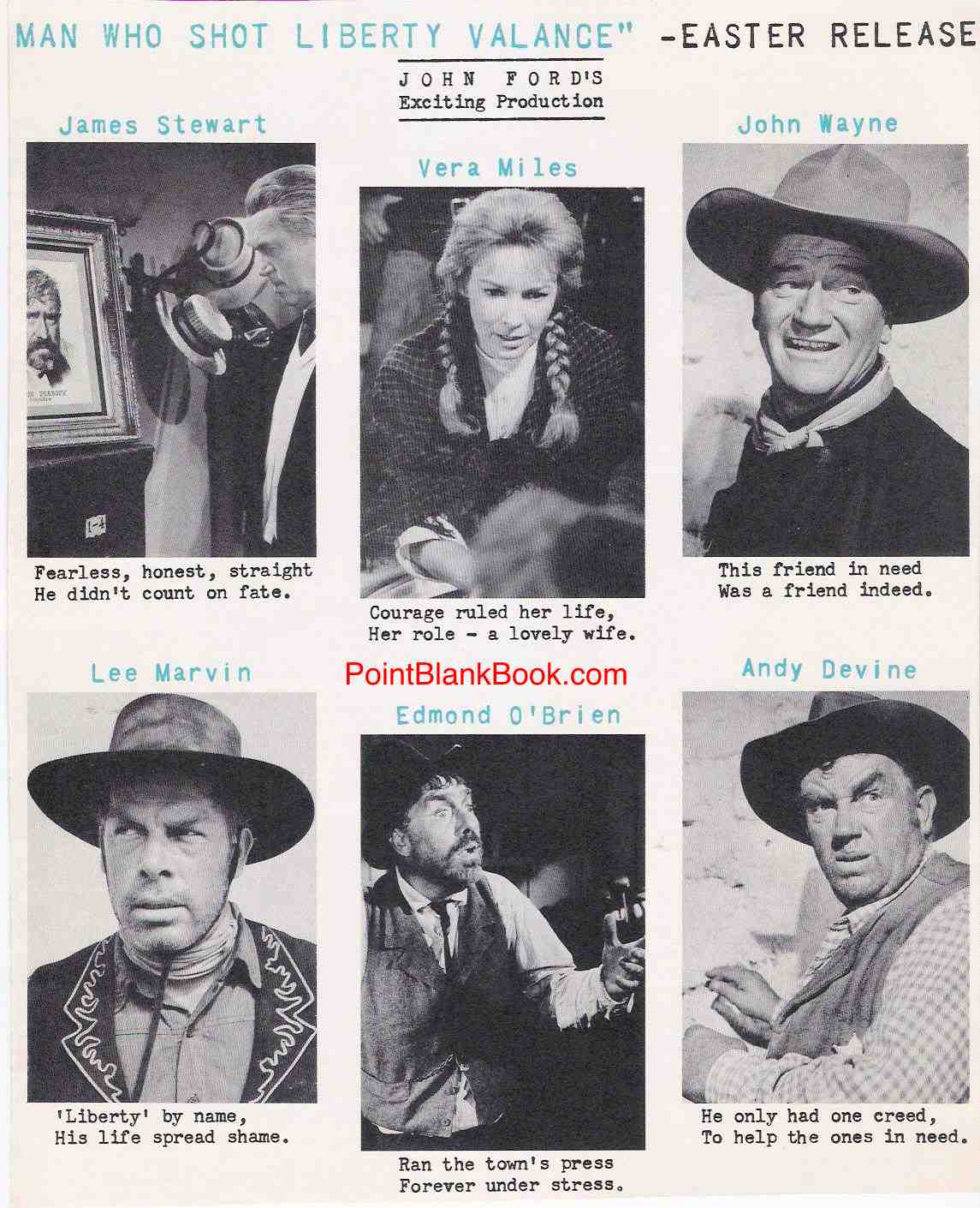 A pre-release ad from a movie magazine in which the p.r. people had some rhyming fun.