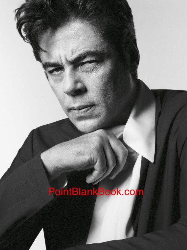 A personal favorite of mine, BENICIO DEL TORO