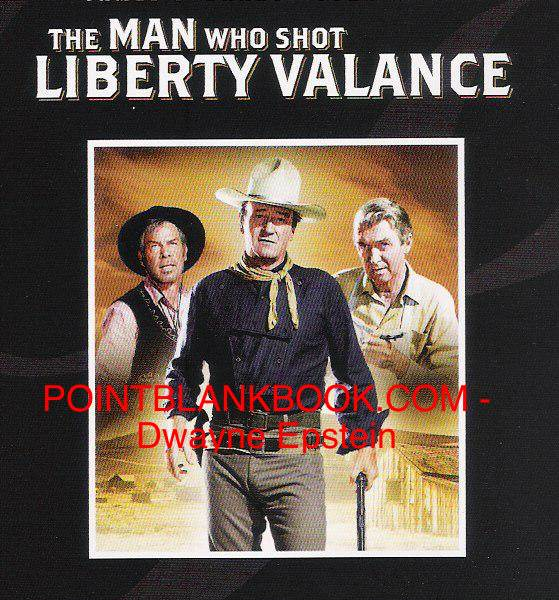 Cover image for the extremely popular deluxe 2-disc DVD release of The Man Who Shot Liberty Valance.