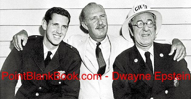Three generations of a show business dynasty: (L-R) A young Tracy Wynn with his father actor & Lee Marvin cohort, Keenan Wynn, and vaudeville legend, grandfather Ed Wynn.