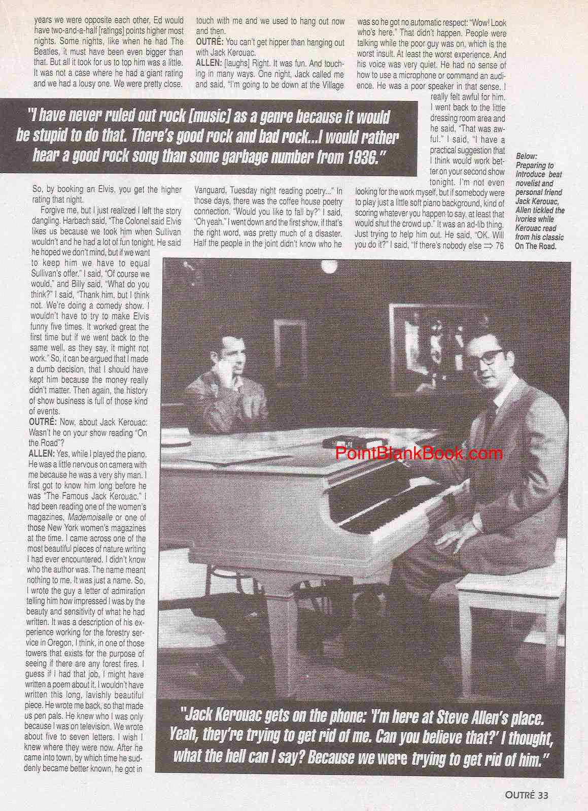 Steve Allen interview, page 6