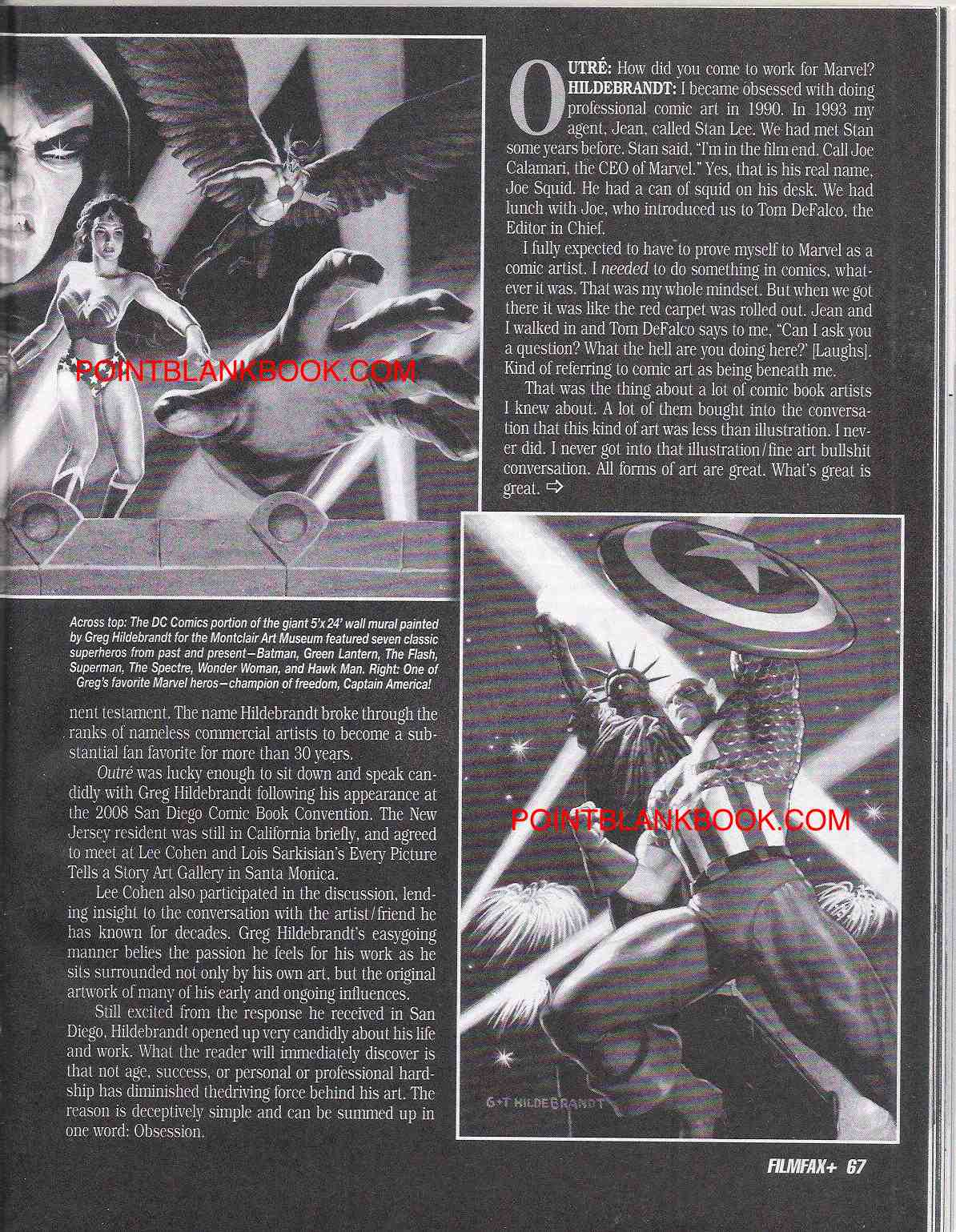 Greg Hildebrandt, Part 3, Page 2.