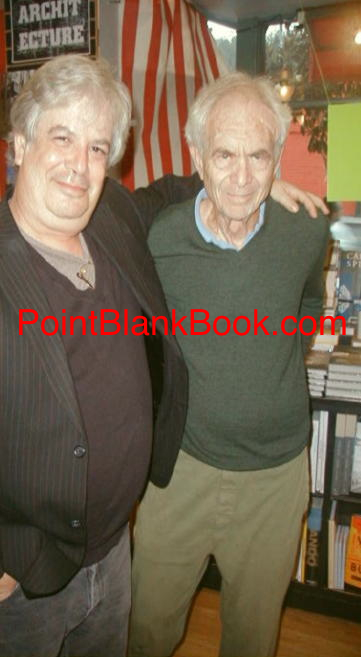 At the Book Soup booksigning for LEE MARVIN: POINT BLANK, with Mike Hamilburg (right) on Sunset Blvd.