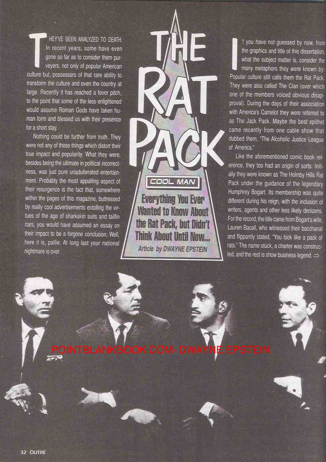 The Rat Pack in Outre, Page 1