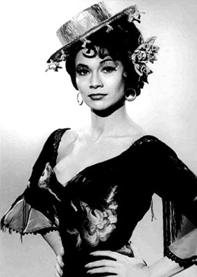 Actress Barbara Luna as she looked in Ship of Fools.