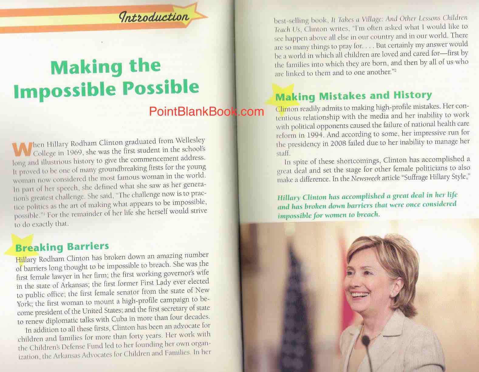 Introduction to People in the News: Hillary Clinton.