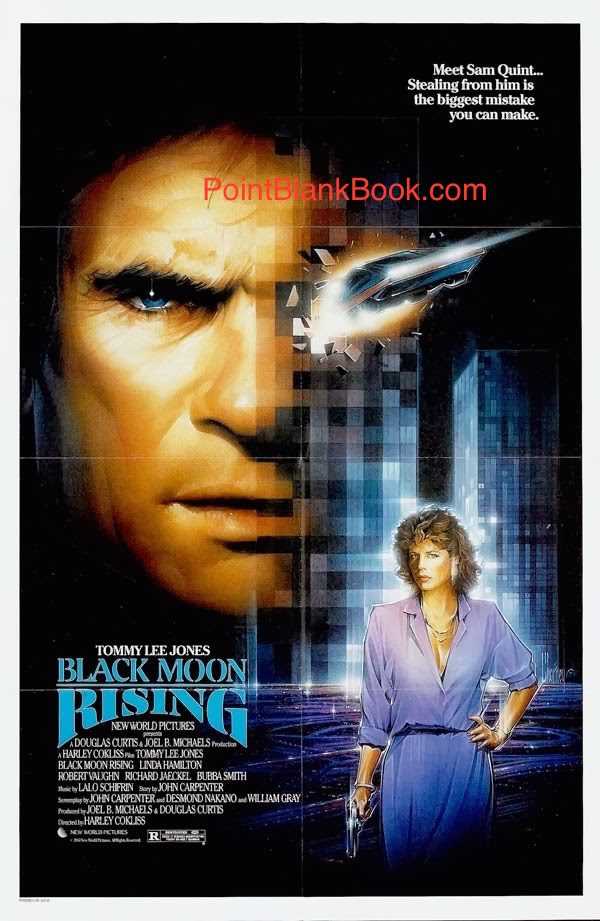 Also from 1986, Robert Vaughn costarred with Tommy Lee Jones in BLACK MOON RISING but according to Vaughn, they never met!